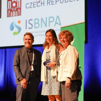 "HBCP researcher receives ""One to Watch"" award at International Society of Behaviour Nutrition and Physical Activity conference"